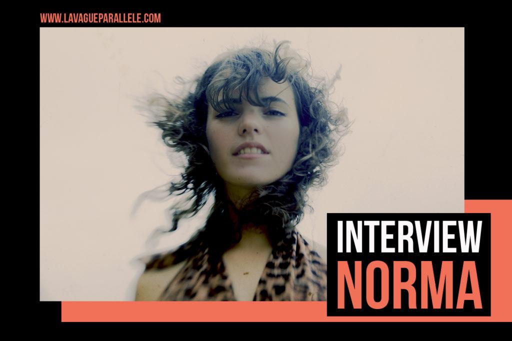 On a parlé de son premier album avec Norma