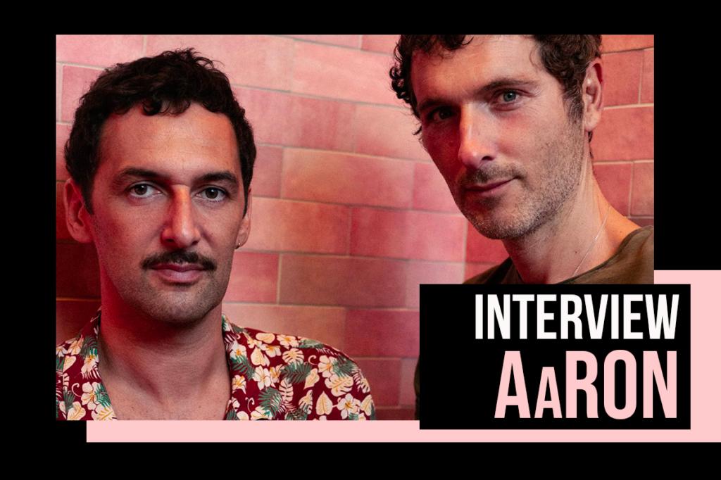 On a rencontré AaRON, le duo français aux mains d'argent