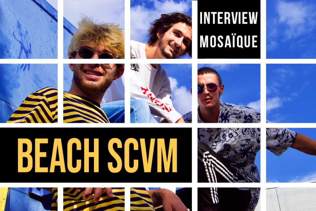 Mosaïque : BEACH SCVM