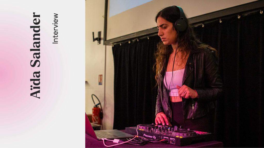 Aïda Salander, une artiste engagée à l'engageant festival Magic Barbès